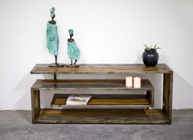 Design objects - Nisa PY lounge console - MOOGOO CREATIVE AFRICA