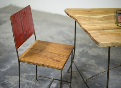 Design objects - Wood/Steel Chair - MOOGOO CREATIVE AFRICA