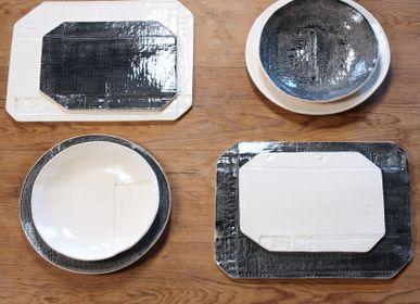 "Formal plates - plates ""Empreintes - LA P'TITE FABRIK"