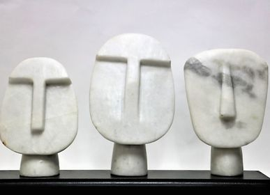 Decorative objects - Faces - ORNAMENTA