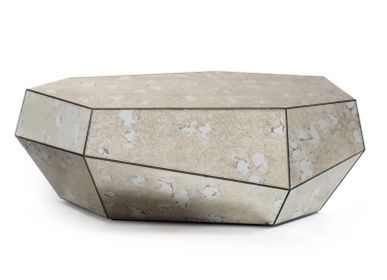 Coffee tables - THREE ROCKS 2 Coffee Tables & 1 Side Table - INSIDHERLAND