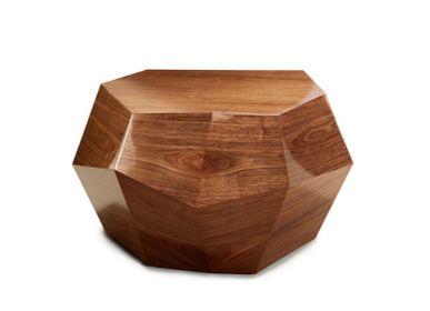Coffee tables - THREE ROCKS 2 Coffee Tables & 1 Side Table - INSIDHERLAND