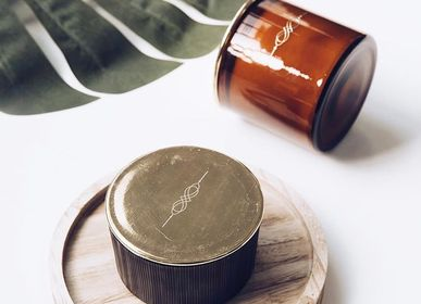 Bougies - Mini Brown Cut Glass - NYKS