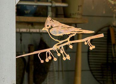 Objets de décoration - Metalbird Mésange huppée - METALBIRD