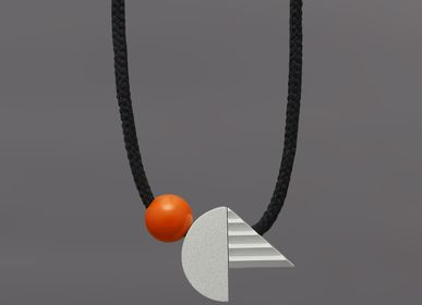 Jewelry -  Pop necklace (orange) - ONE WE MADE EARLIER