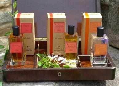 Parfums d'intérieur - AMBRE - AMBRE IMPERIAL - FLEUR DE L'ORANGER AMER - LE JARDIN DE MON GRAND-PÈRE