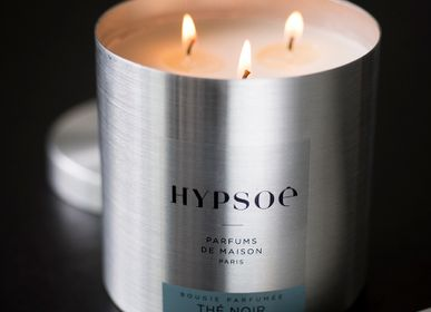 Personalizable objects - SCENTED CANDLES IN THEIR METAL BOX - 600G - HYPSOÉ - MADE IN PARIS