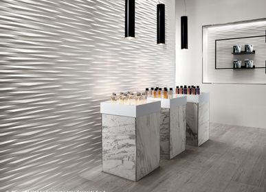 Wall coverings - 3D WALL DESIGN | Multi-faceted Reliefs - ATLAS CONCORDE