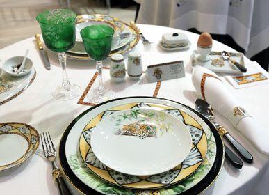 """Assiettes de reception - """"Les grands fauves""""  - FRADKOF PARIS"""