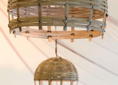 Suspensionsextérieures - Luminaire cloche en Bambou - DEAMBULONS