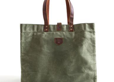Bags / bookbags - Sas Cabas Toile et Cuir ESCAPADE - ALASKAN MAKER