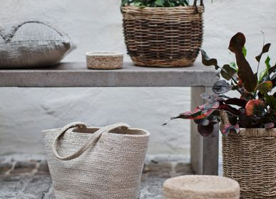 Storage box - Waterhyacinth and seagrass baskets - DIXIE