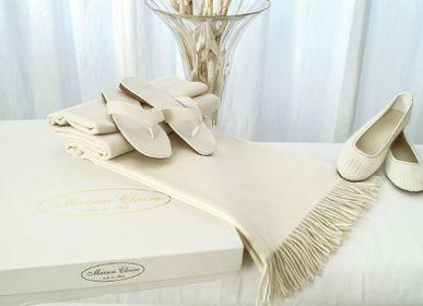 Plaids - Cashmere plaid - MAISON CLAIRE