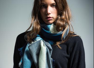 Foulards et écharpes - 4 block scarf  - PATRIZIA D.