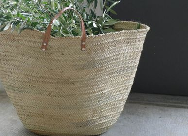 Shopping basket - Straw basket - UN ESPRIT EN PLUS