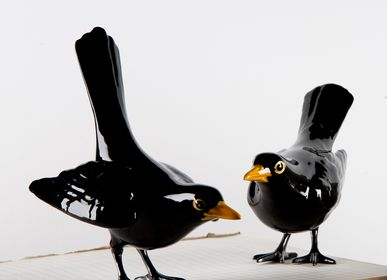 Objets design - Decorative, Ceramic - A Blackbird, evidently - LABORATÓRIO D'ESTÓRIAS
