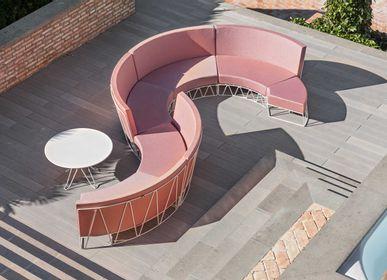 Lawn sofas   - LAGARTO modular sofa - ISIMAR