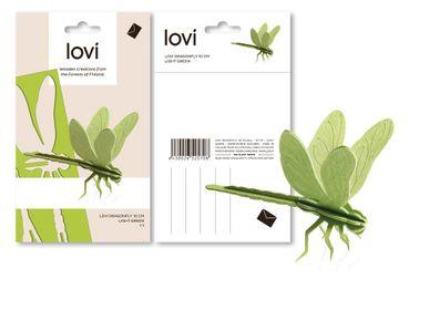Stationery / Card shop / Writing - Lovi Dragonfly - LOVI