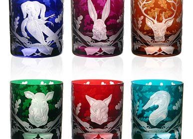Crystalware - FOREST FOLLY Glass - ARTEL