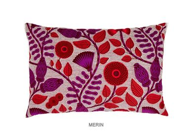 Coussins textile - COUSSIN À LA MODE MERIN - FASHION PILLOWS BY MÜLLERSCHMIDT