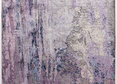 Tapis design - Pluie violette - VANTYGHEM FASHIONABLE FLOORING