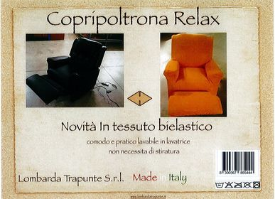 Homewear textile - SOFA COVER RELAX, AUTOMATIC SOFA - LOMBARDA TRAPUNTE S.R.L.
