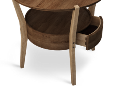 Tables - Cromwell Side Table - WOOD TAILORS CLUB