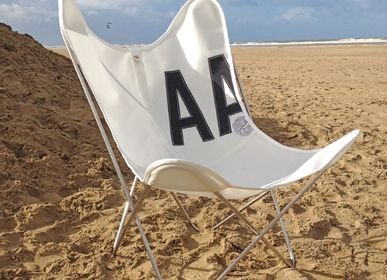 Lounge chairs for hospitalities & contracts - VENT D'OUEST AA CHAIR - AIRBORNE