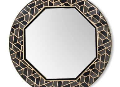 Spa and wellness - Tortoise Mirror - MAISON VALENTINA