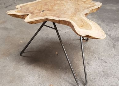 Coffee tables - Coffee table wood and root - WILD-HERITAGE.COM