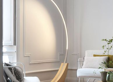 Floor lamps - MOON Floor Lamp - BROSSIER SADERNE