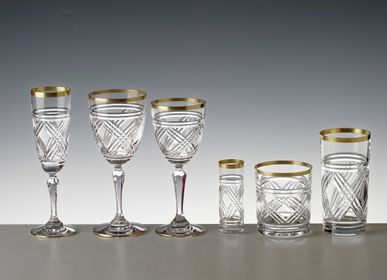 Verres - TANGER OR  - CRISTAL DE PARIS