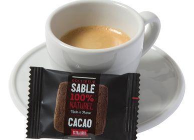 Biscuits - CARRÉ CACAO EN SACHET EN EMBALLAGE INDIVIDUEL - GOULIBEUR