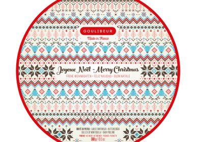 Cookies - Tin box for christmas  - GOULIBEUR