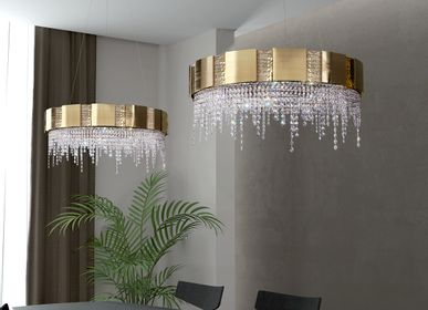 Chambres d'hotels - Suspension Mondrian - CASTRO LIGHTING