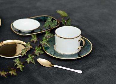 Verre d'art - Lush Forest assiettes porcelaine - PORCEL