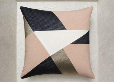 Fabric cushions - POUDRE cushion - MAISON POPINEAU