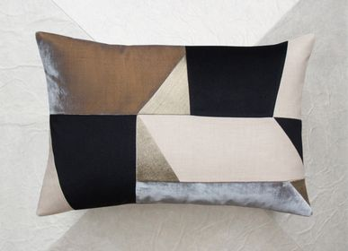 Cushions - TAUPE cushion - MAISON POPINEAU
