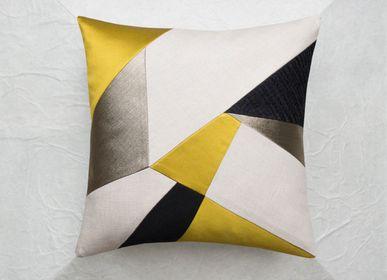 Fabric cushions - AMBRE cushion - MAISON POPINEAU