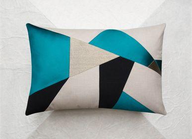Fabric cushions - AZUR cushion - MAISON POPINEAU