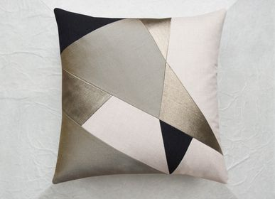 Fabric cushions - KAKI cushion - MAISON POPINEAU