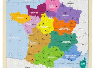 Jeux - PUZZLE : FRANCE - ULYSSE COULEURS D'ENFANCE