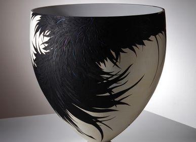 Pièces uniques - Collection Corvus Nero - Corbeau - SALLY BURNETT DESIGNS IN WOOD