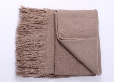 Homewear - Cashmere Blanket - PASHMINA LOOMS - CASHMERE