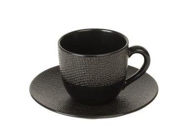 Mugs - P/TASSE CAFÉ VESUVIO NOIR - TABLE PASSION - BASTIDE