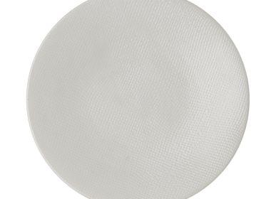 Everyday plates - ASSIETTE DESSERT 20.5 CM VESUVIO BLANC - TABLE PASSION - BASTIDE