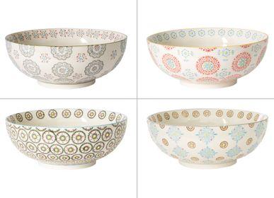 Platter, bowls - SALADIER 26 CM ASSORTI BOHEME - TABLE PASSION - BASTIDE