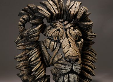 Sculptures, statuettes et miniatures - Buste de lion - Edge Sculpture - EDGE SCULPTURE