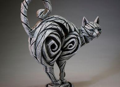 Sculpture - Chat (Blanc) - Edge Sculpture - EDGE SCULPTURE