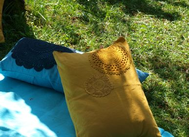 Cushions - cushion so crochet - LA P'TITE FABRIK